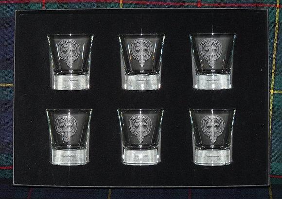 Whisky Dram Glass Set