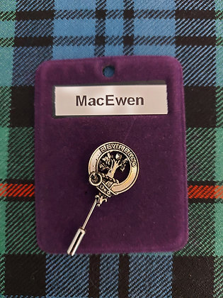Clan Crest Lapel Pin (Clearance)