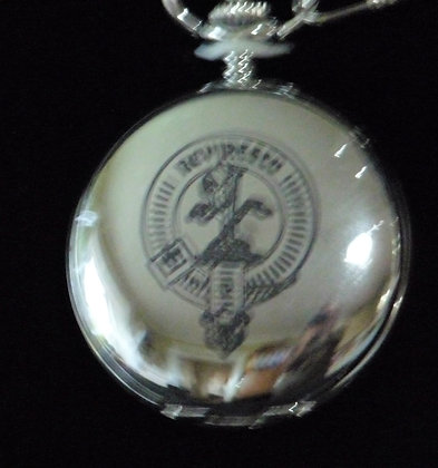 Clan Crest Pocket Watch