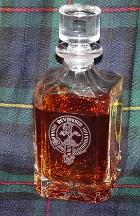Clan Crest Whisky Decanter