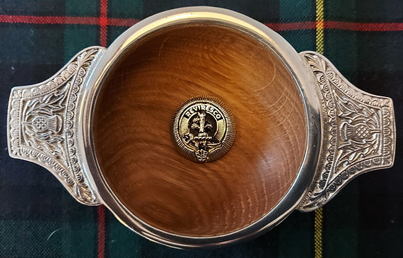 Clan Crest Quaich