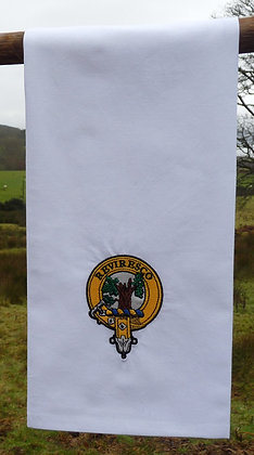 Clan Crest Tea Towel