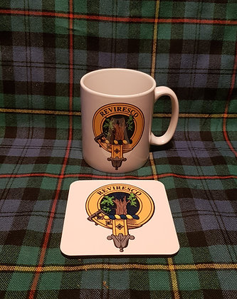 Coffee Cup and Coaster Set