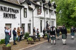 Pipers at the Kilfinan Hotel