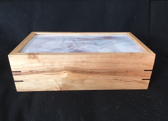 Handmade Artistic Wooden Boxes, Exotic Wood Jewelry Box