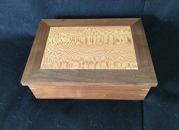 Jewelry Box - Walnut & Sycamore