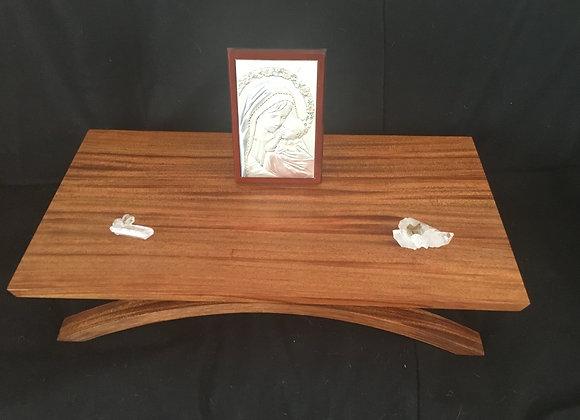  Handmade Artistic Wooden Boxes, custom wood meditation altar, meditation shrine table