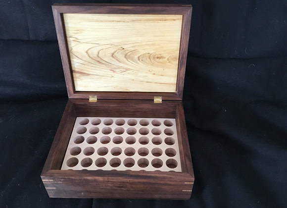 Handmade Artisan Wooden Boxes, handmade essential oils boxes, wooden oil holder