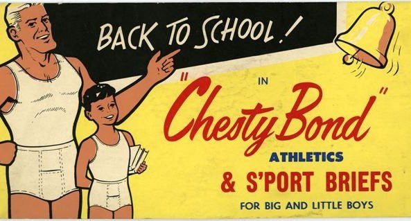 A Chesty Bonds Advertisement from back in the day!
