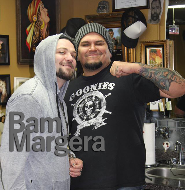 Bam Margera, tattoos, tattoo jackass