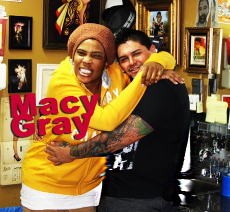 Macy Gray, Hip Hop, tattoos, R&B