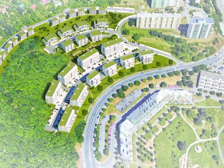 350 bytů do pěti let. Pro výstavbu na Kamenném vrchu teď město hledá projektanta