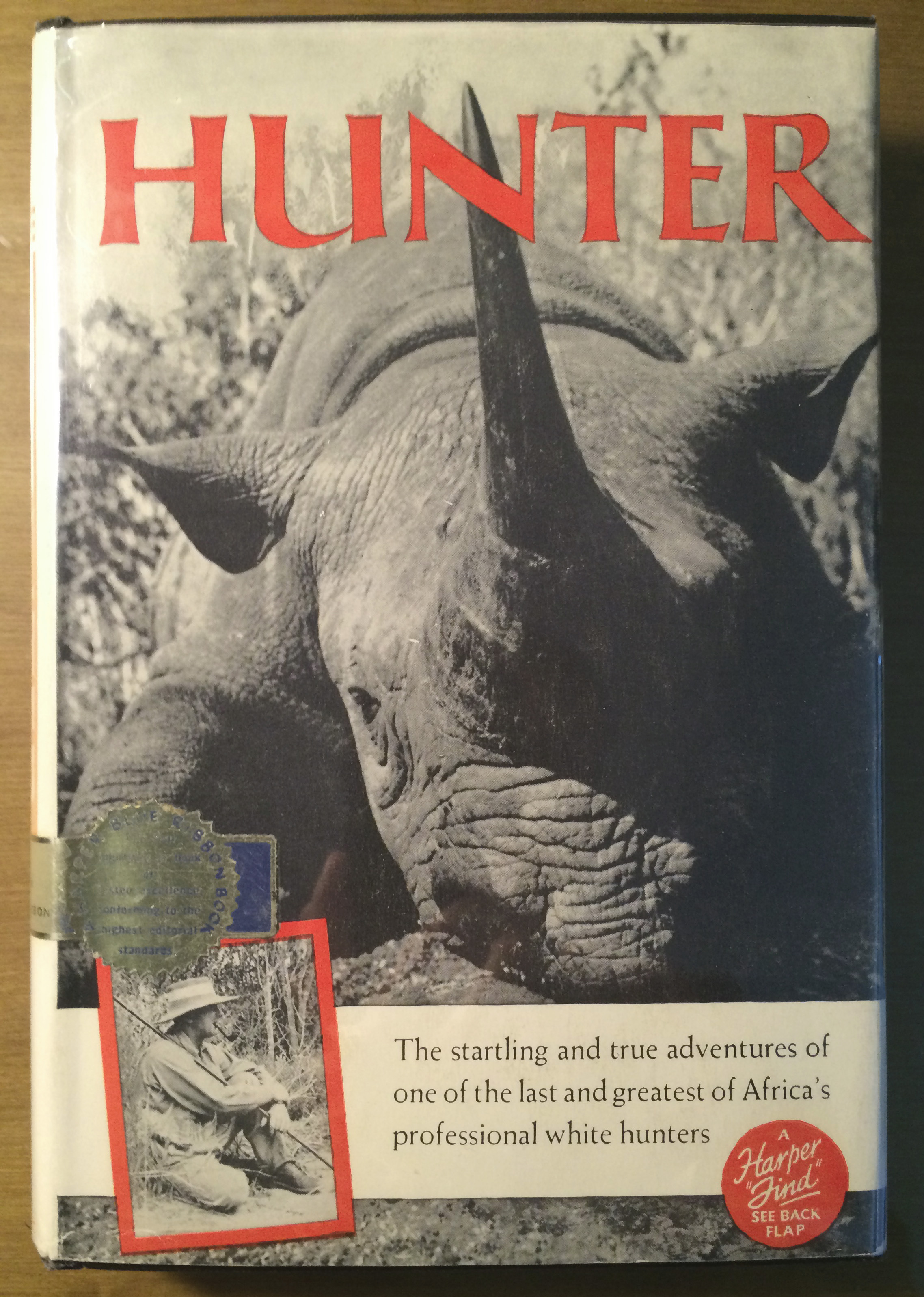 """Hunter"" Book Cover"
