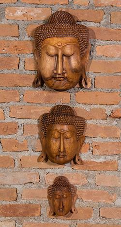 Mascaras parede - indoor