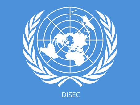DISEC - Comisión de Desarme y Seguridad Internacional
