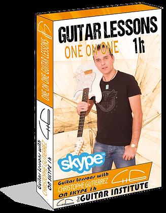 1 h Skype Guitar lesson