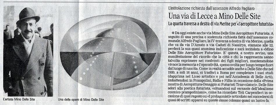 Gazzetta - Mino Delle Site