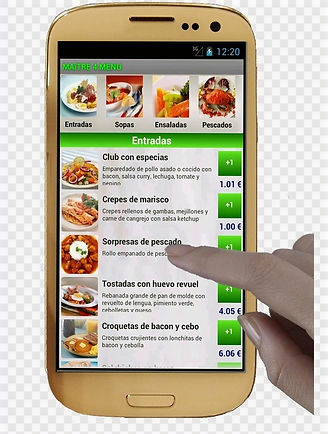 smartphone-mobile-phones-restaurant-menu