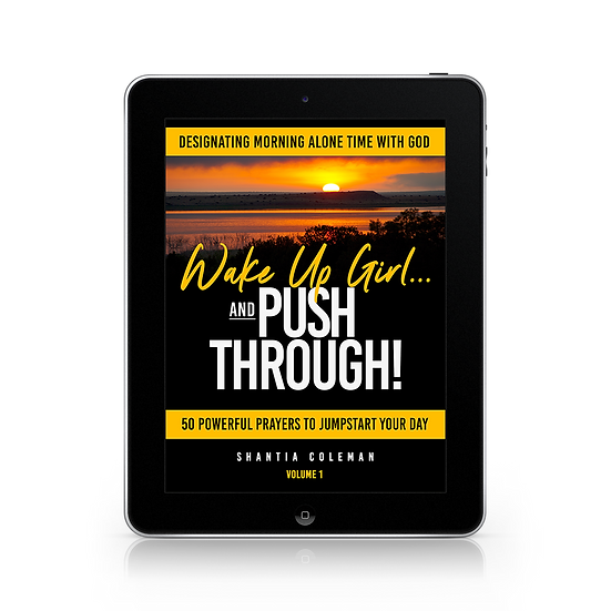 EBook Wake Up Girl and PUSH Through Prayer Book