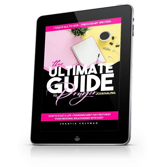 EBook The Ultimate Guide to Prayer Journaling