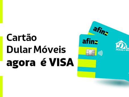 Novo Cartão Dular bandeira VISA