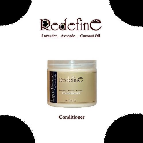 16oz Redefine conditoner with avocado oil for moisture.