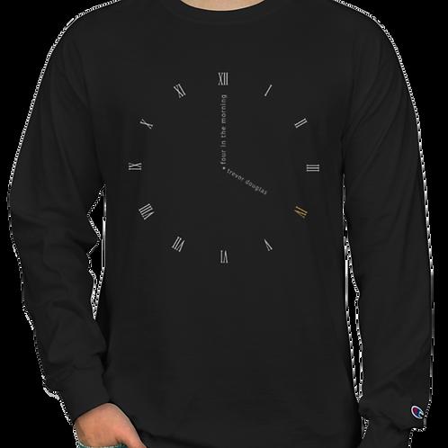 Clock Face Long Sleeve (black)