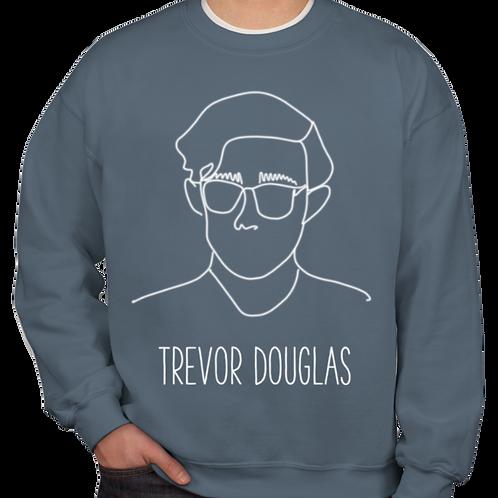 Line Drawing Sweatshirt (indigo)
