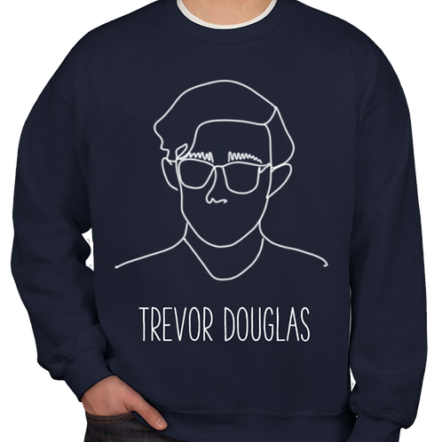 Line Drawing Sweatshirt (navy)