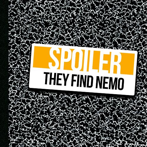 They Find Nemo - Sticker