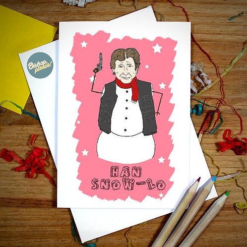 Han Snow-Lo - Christmas Card