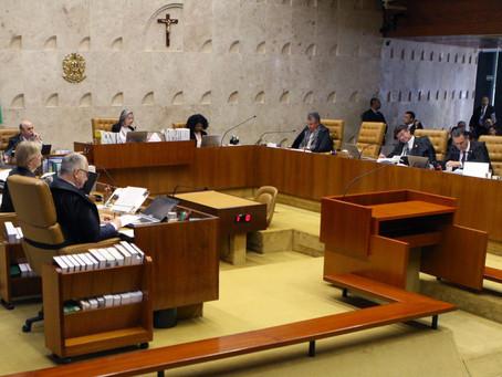 STF adia julgamento sobre a condução coercitiva. 4 Ministros votaram a favor e 2 contra.