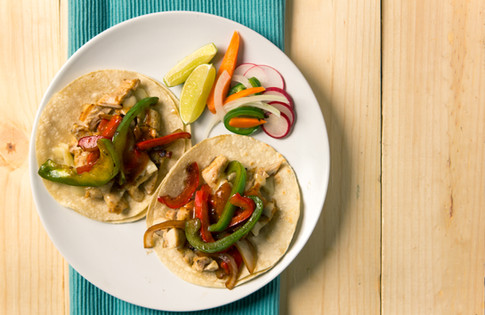 Chicken & Roasted Peppers | Mercadito