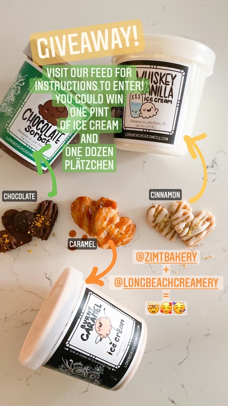 Giveaway with Long Beach Creamery