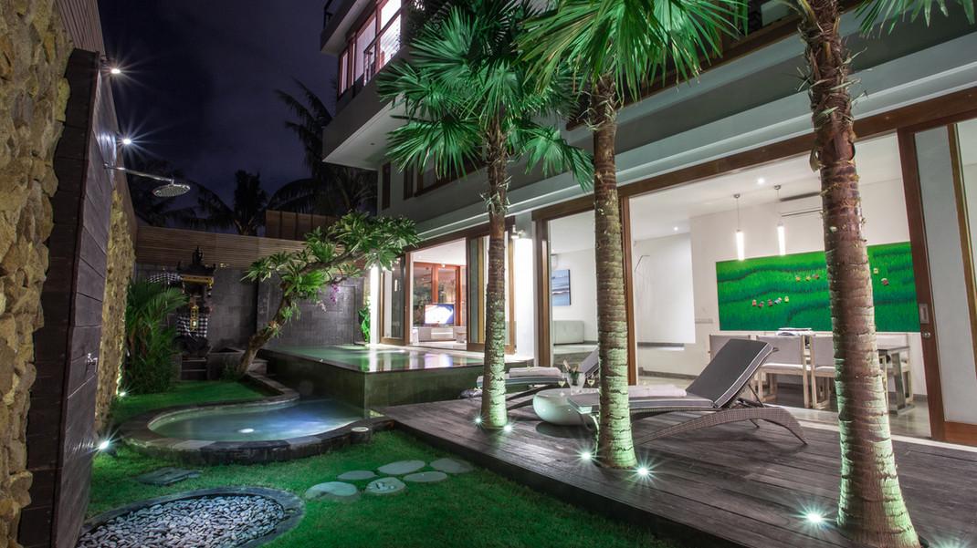 AB VILLA - 2 Bedroom villa view from exterior