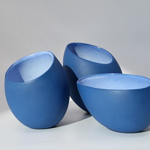 Blue vessels