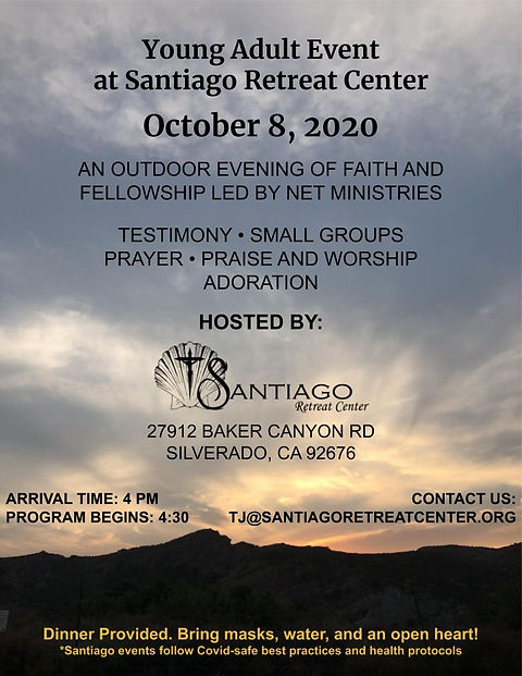 Santiago Young Adult Event  October 8, 2