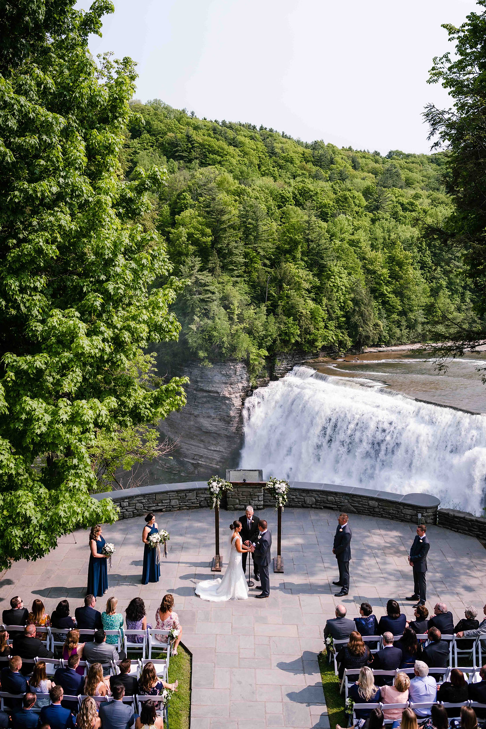 Waterfall, Ceremony, Letchworth State Park