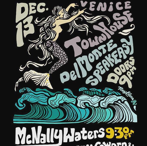 Del Monte Speakeasy Poster