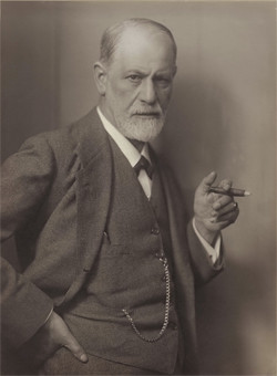 DescriçãoSigmund Schlomo Freud, mais conhecido como Sigmund Freud, foi um médico neurologista criador da psicanálise.