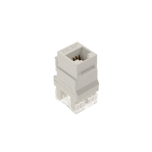 Category 5e RJ45 Keystone Connector - Pack 10