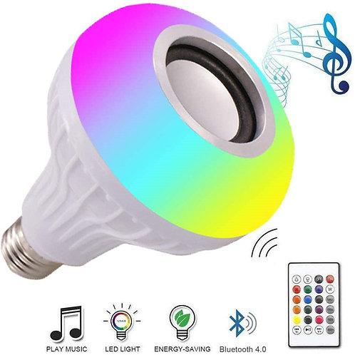 Bluetooth Bulb Soundbox led Music Colorful RGB