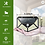 Thumbnail: Waterproof 100 LED 270º Solar Panel Power Motion Sensor Solar Lights