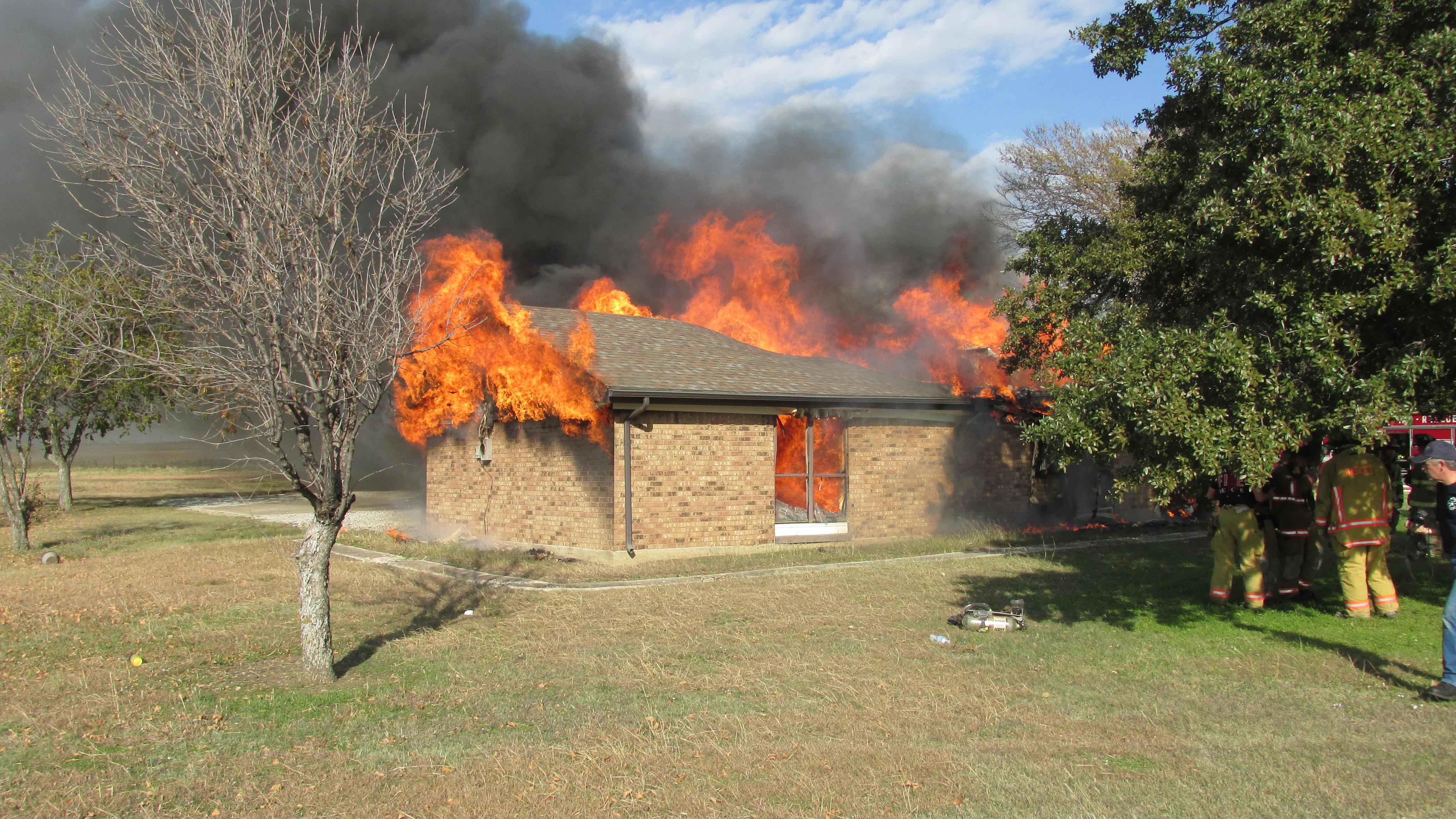 Burn Practice House