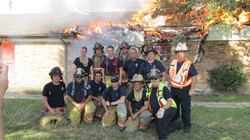 Haslet Fire Department Firefighters
