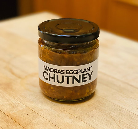 Madras Eggplant Chutney