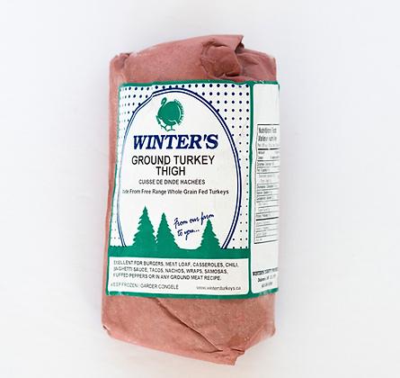 Ground Turkey Thigh, Frozen