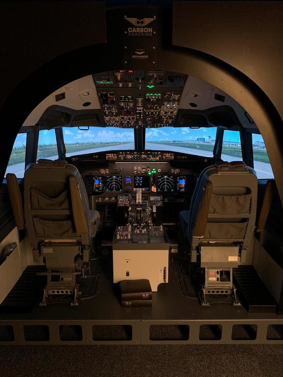 B737 turnkey simulator by simworld