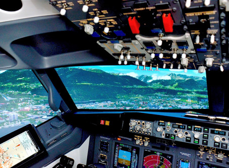 B737 Fixed Base Flight Simulator - Boston MA, USA