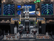 B 737 cockpit simulator simworld
